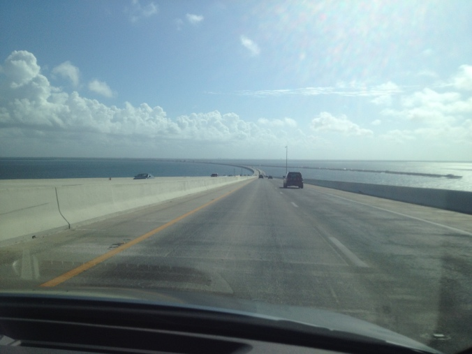 Sunshine Skyway Bridge, Tampa Bay, by Liz