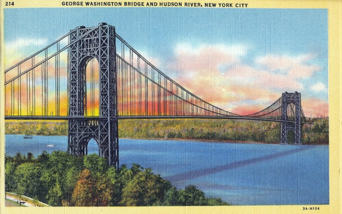 George Washington Bridge Postcard